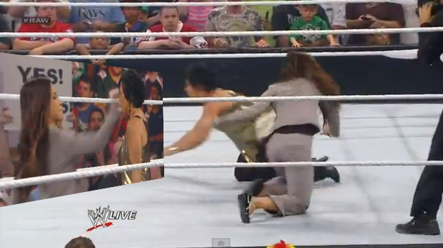 AJ vs Vickie – Maybe This Should Be About RESPECT