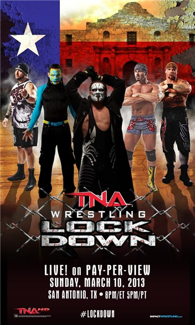 Promotional Poster Released For TNA Lockdown 2013