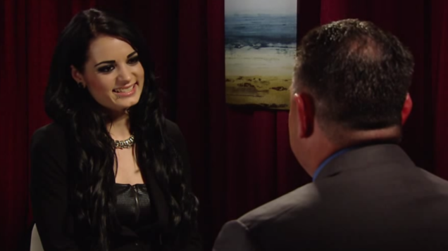 Paige interview with Cole