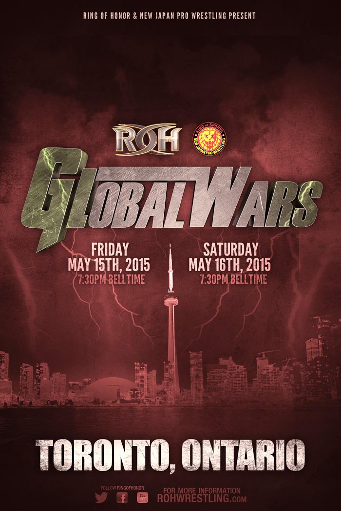 ROH & NJPW - Global Wars