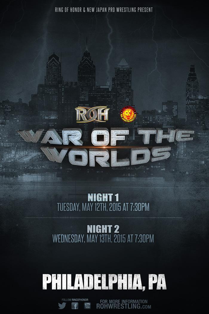 ROH & NJPW - War of the Worlds