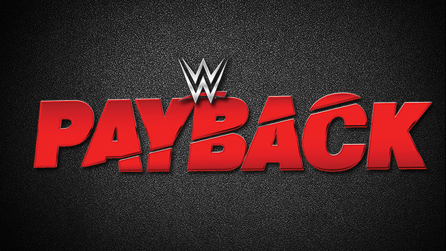 WWE Payback Card 5/1/16