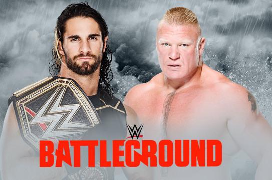 WWE Battleground Card7/19/15
