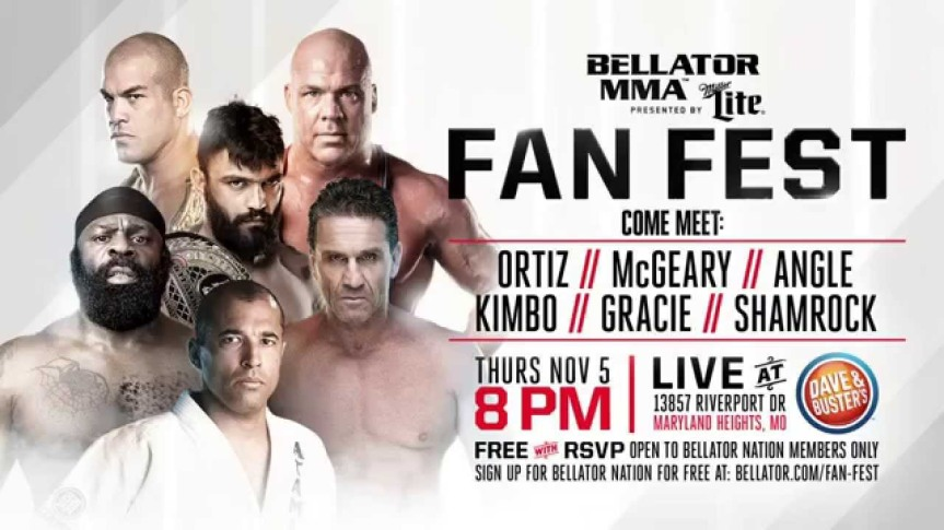 Kurt Angle To Appear At Bellator 145 FanFest