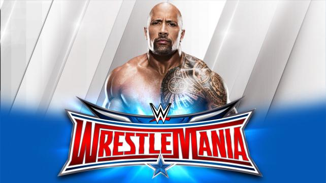 THE ROCK Announced For Wrestlemania 32