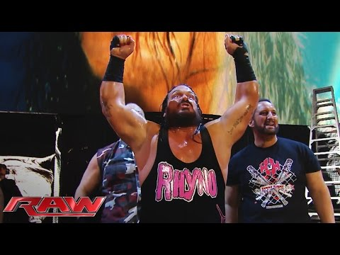 Rhyno Made Return To RAW Teams With The Dudley's & Dreamer