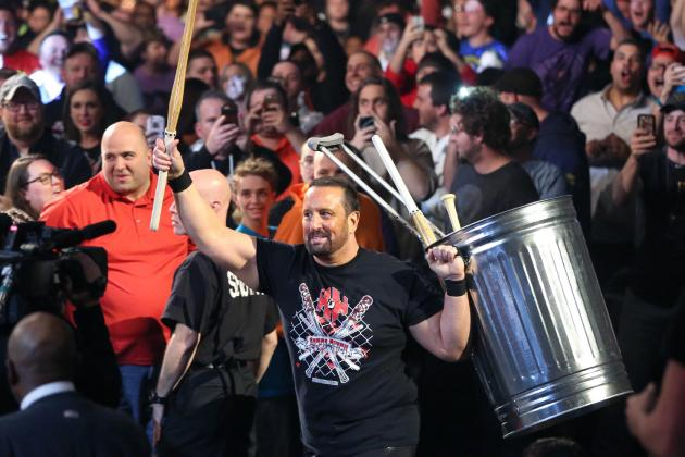 Tommy Dreamer Nearly Loses Eye(Photo)