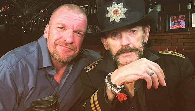 Triple H & Chris Jericho Remember Rock Legend Lemmy Kilmister