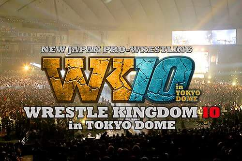 NJPW Wrestle Kingdom 10 Card 1/4/16