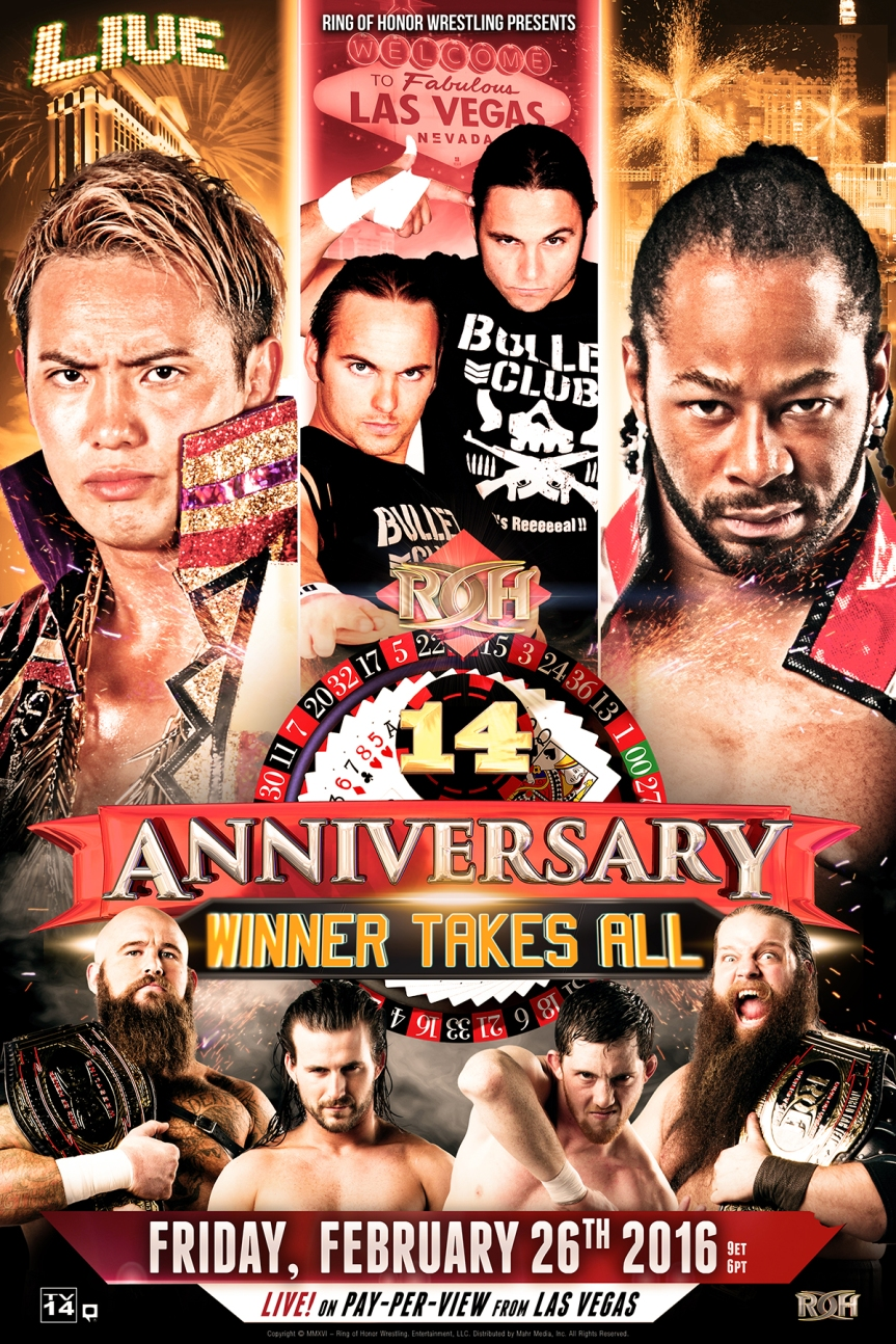 ROH 14th Anniversary 'Winner Takes All'Results