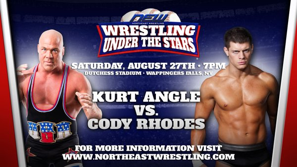 Cody Rhodes vs. Kurt Angle Set For Northeast Wrestling's Wrestling Under The Stars