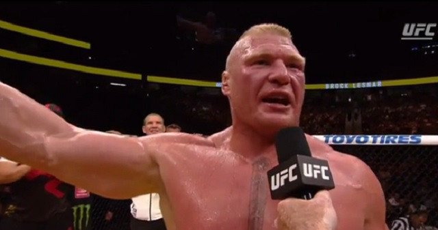 UFC Squashes Reports Of Brock Lesnar Re-Entering USADA Testing Pool For MMA Return