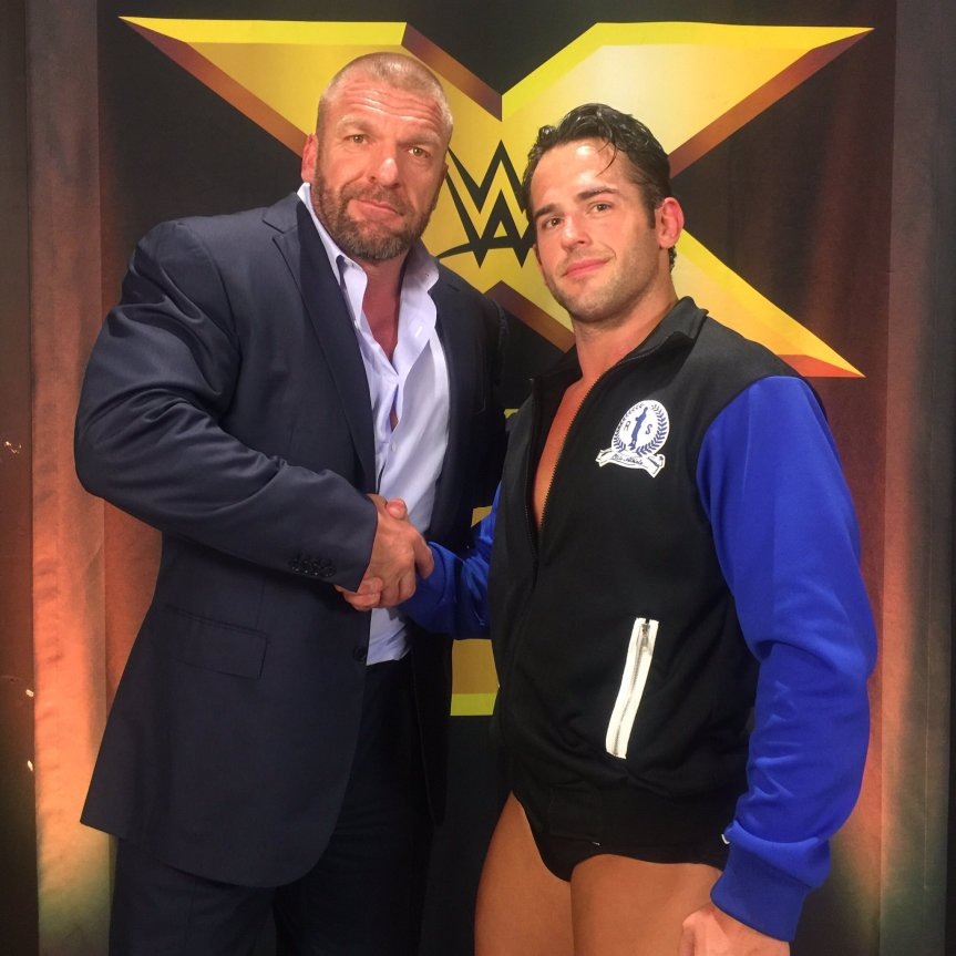 Roderick Strong Makes NXT Debut – WWE Officially Announces Arrival