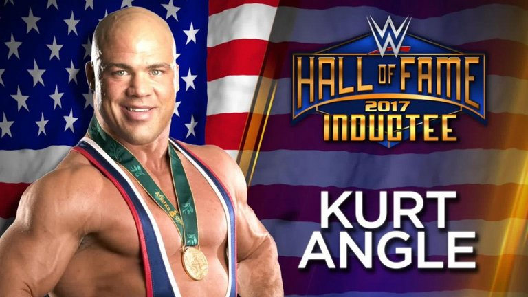 Kurt Angle Headlining WWE Hall Of Fame Class Of 2017