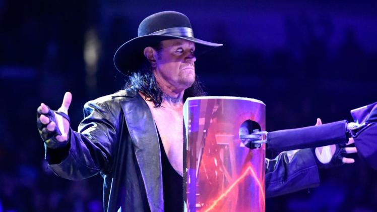 Backstage News On The Undertaker's Health After The Royal Rumble