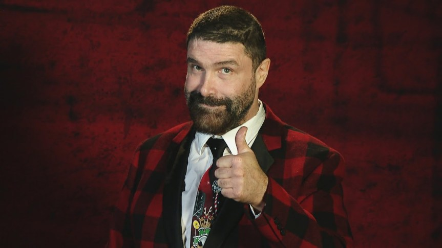 Mick Foley Donates $1,000 To Santa Claus Museum & Village For Santa Letters