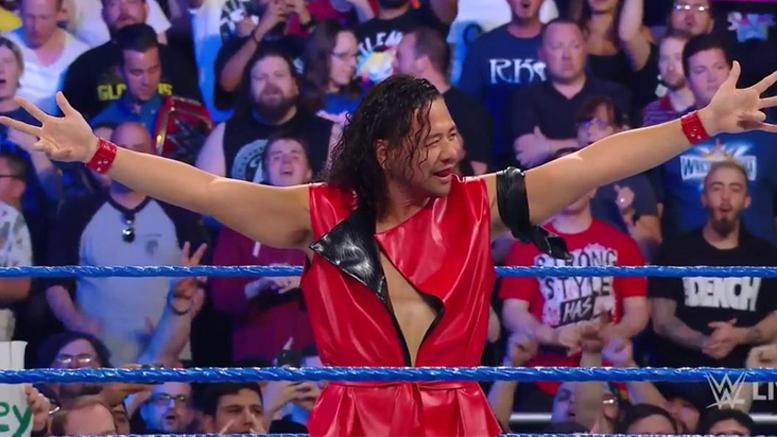 Shinsuke Nakamura Arrives On SmackDown Live (Video &Photos)