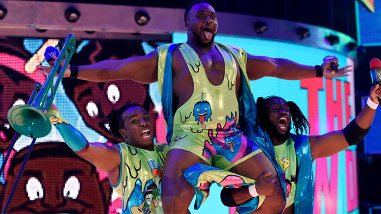 The New Day Make Their Return On SmackDown Live(Video)