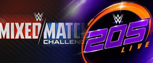 WWE Mixed Match Challenge & 205 Live Preview3/20/18