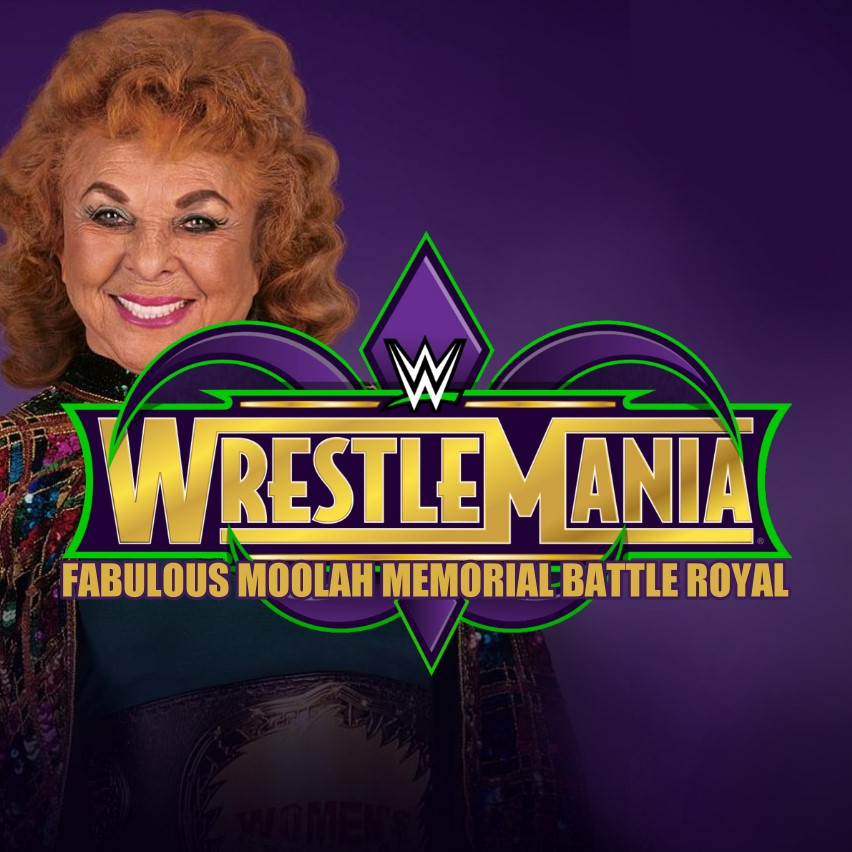 Image result for WWE Announces Fabulous Moolah Memorial Battle Royal Name Change